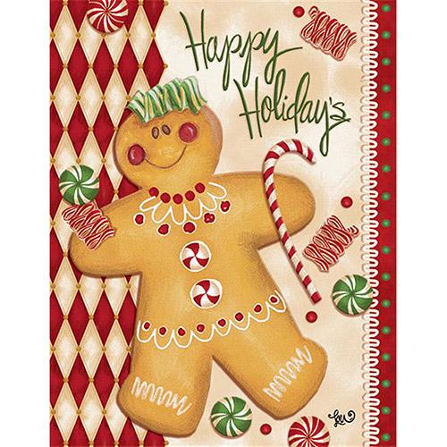 Lang Gingerbread Man Boxed Christmas C