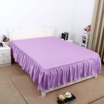 Bed Skirt Solid Polyester Bed Dust Ruffle 3 Sided Coverage Queen King Twin Full Walmart Com Walmart Com