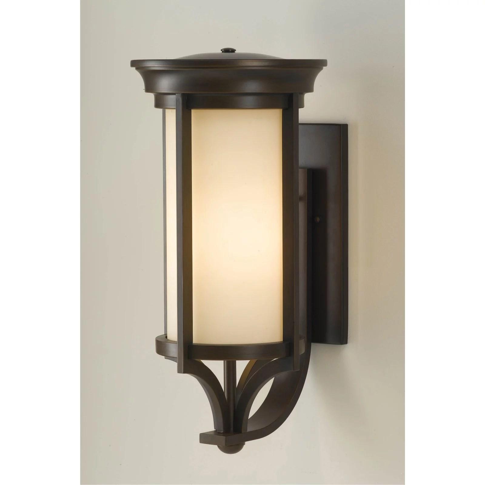 feiss merrill ol750 outdoor wall light heritage bronze