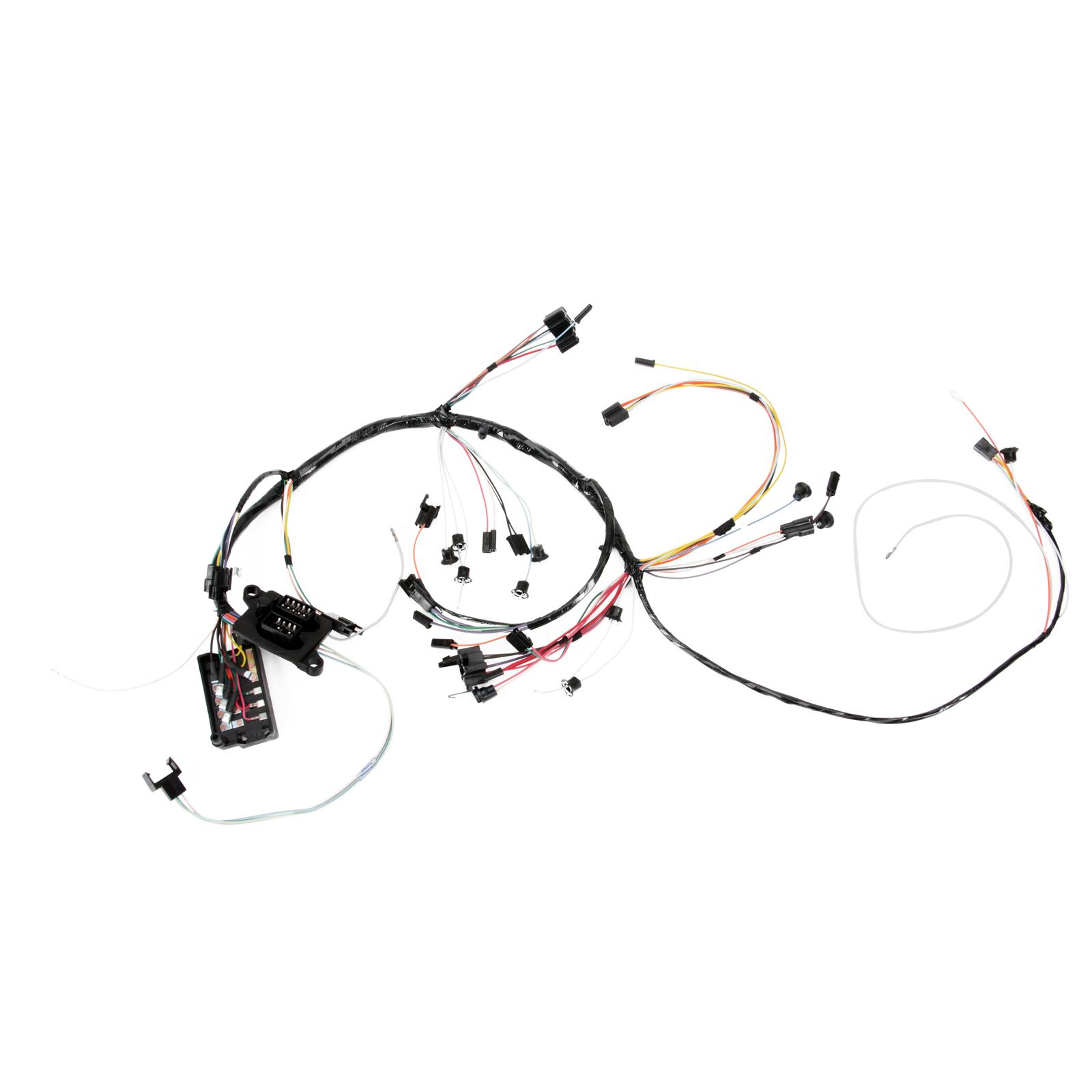 Speedway Dash Wiring Harness W Gauges Chevelle
