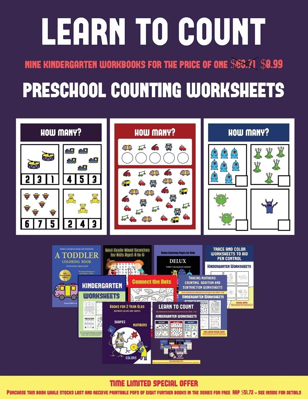 Preschool Counting Worksheets Preschool Counting