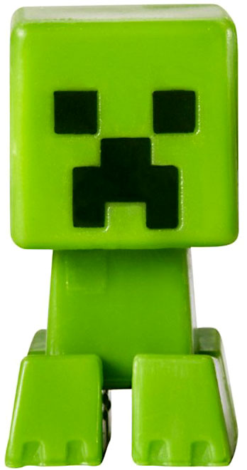 Minecraft Grass Series 1 Creeper 1 Mini Figure Loose