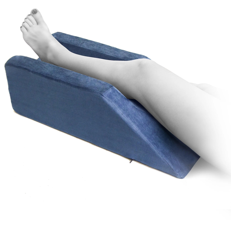 monmed post surgery leg elevation pillow leg rest pillow foam wedge pillow