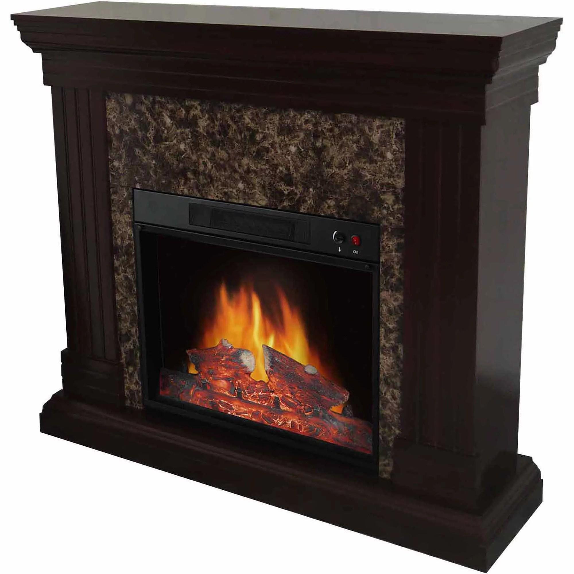 Lifepro Lifesmart Infrared Quartz Heater Mini Fireplace