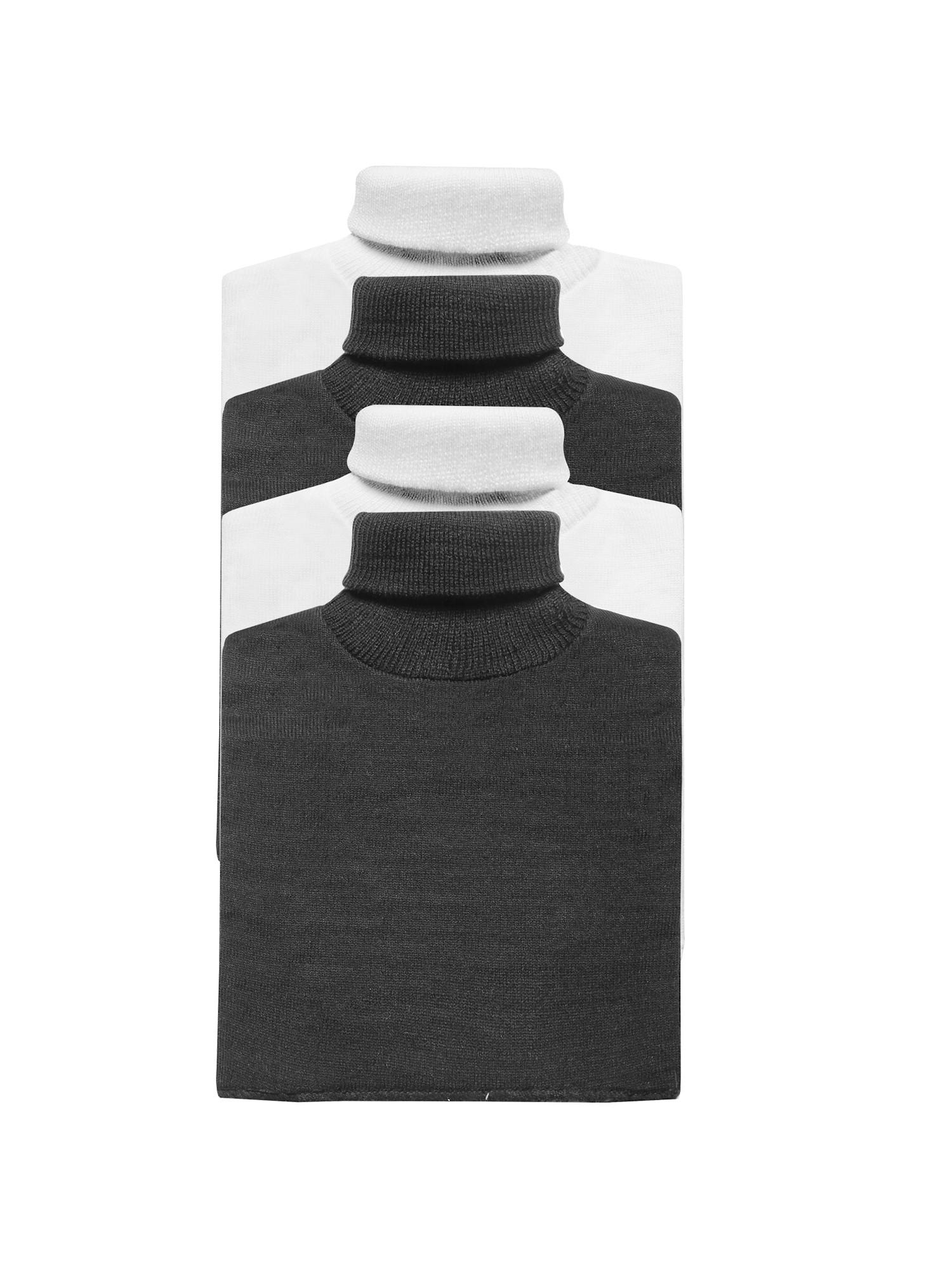 Black Mock Turtleneck T Shirts