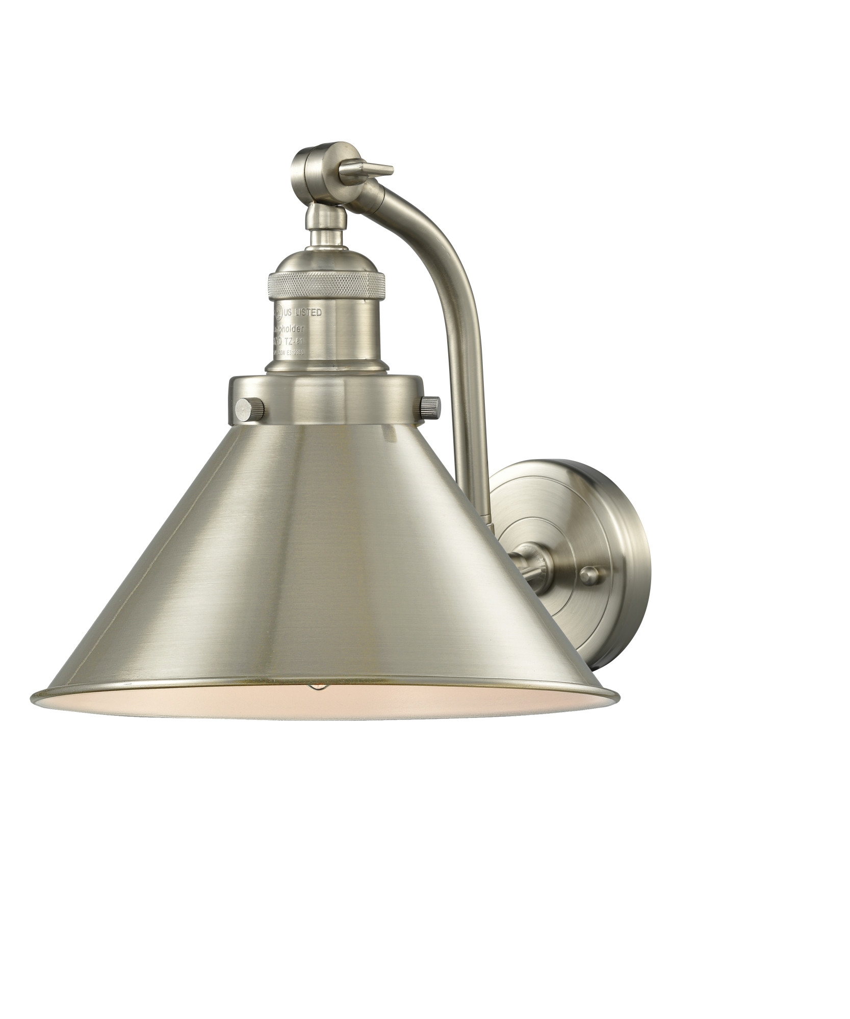 Innovations Lighting 515-1W Briarcliff Briarcliff 1 Light ... on Height Of Bathroom Sconce Lights id=29388