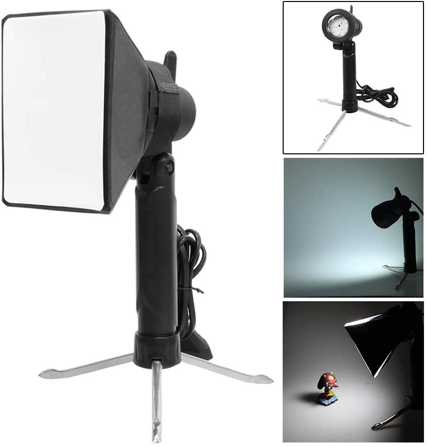 selens photography table top lighting kit portable softbox led lamp studio continuous light for video and product 1