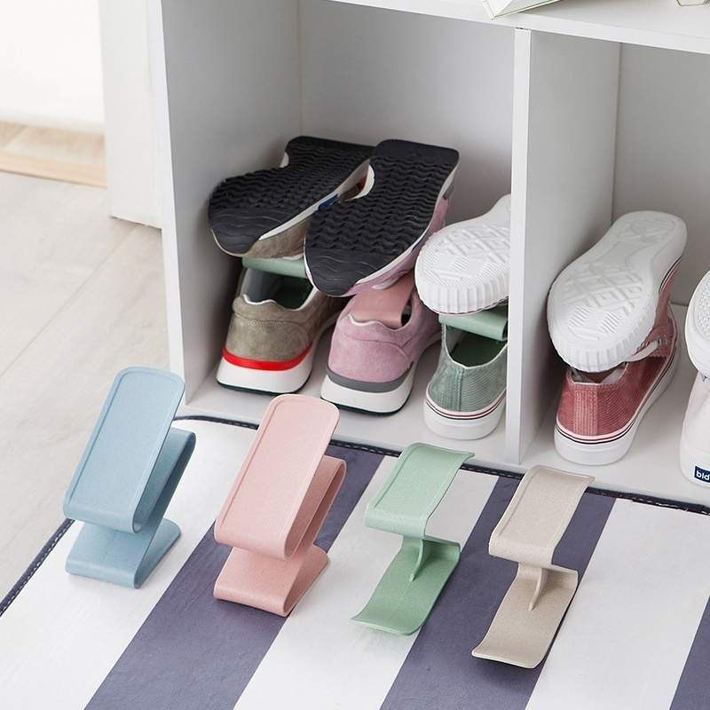 Household Home Portable Closet Storage Plastic Shoes Rack ... on Closet Space Savers Walmart  id=16396