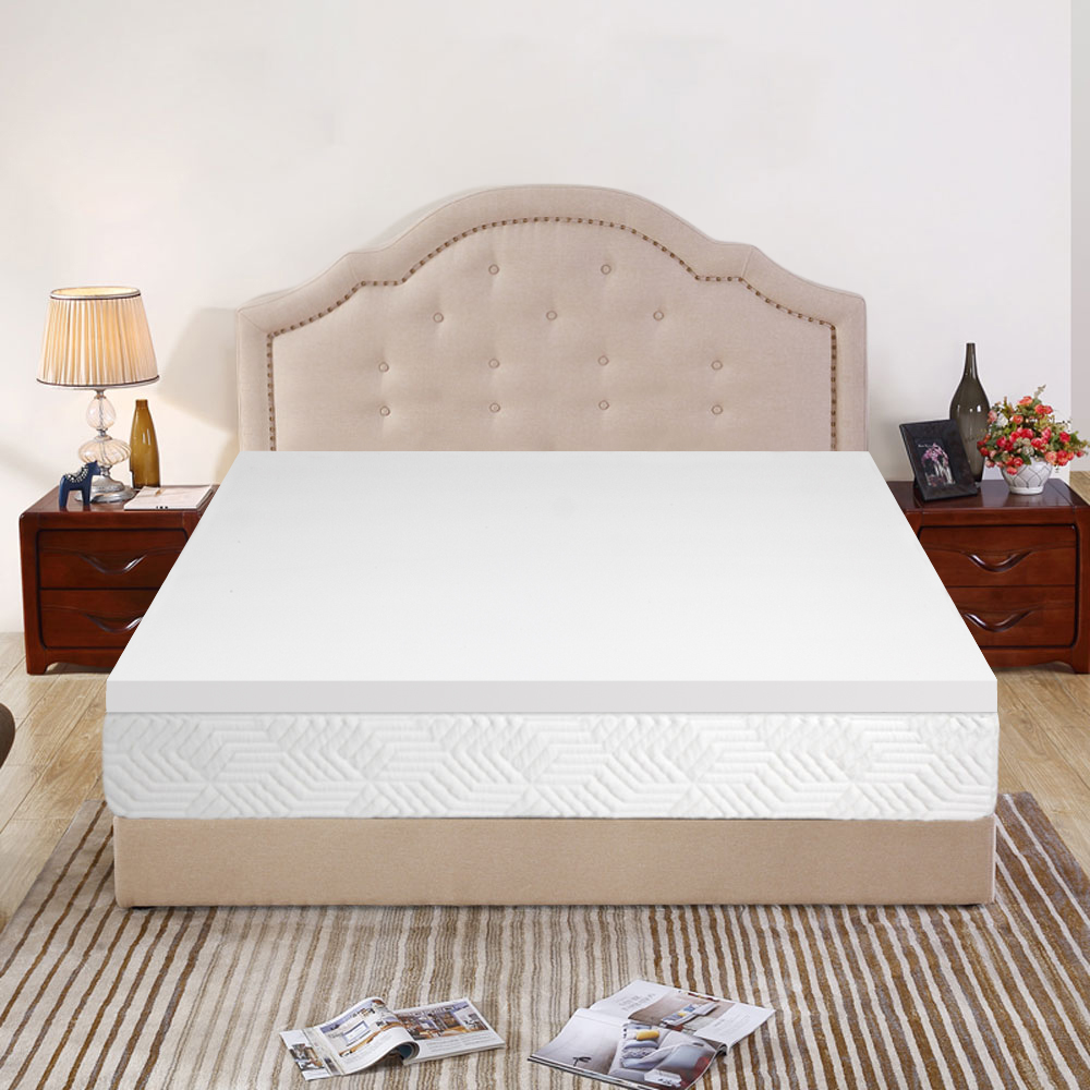 Zimtown Soft And Relax 3 Memory Cotton Mattress Topper