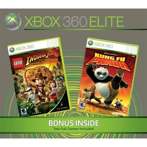 Refurbished Xbox 360 Elite Console 120GB With 2 Bonus Games
