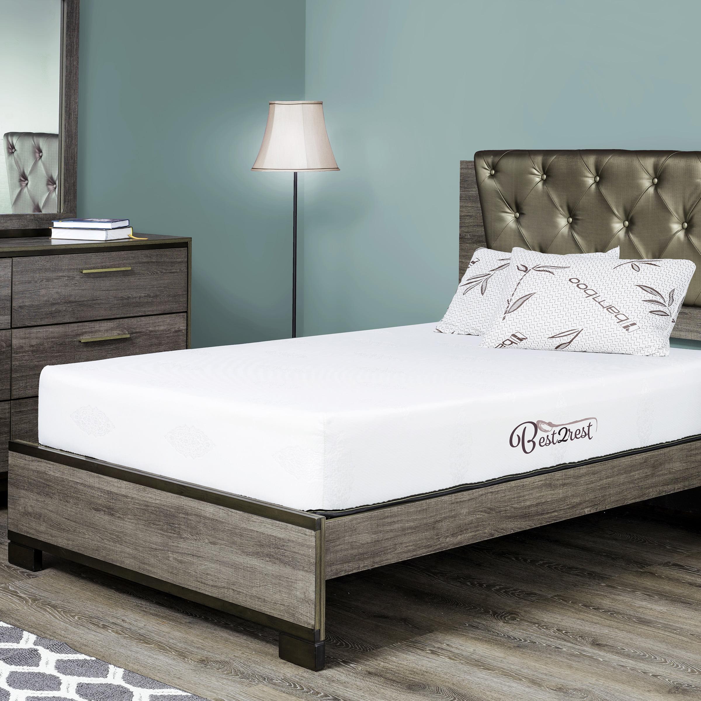 best 2 rest memory foam twin mattress 6 inch great for daybed twin mattress twin bunk bed mattress with cooling gel