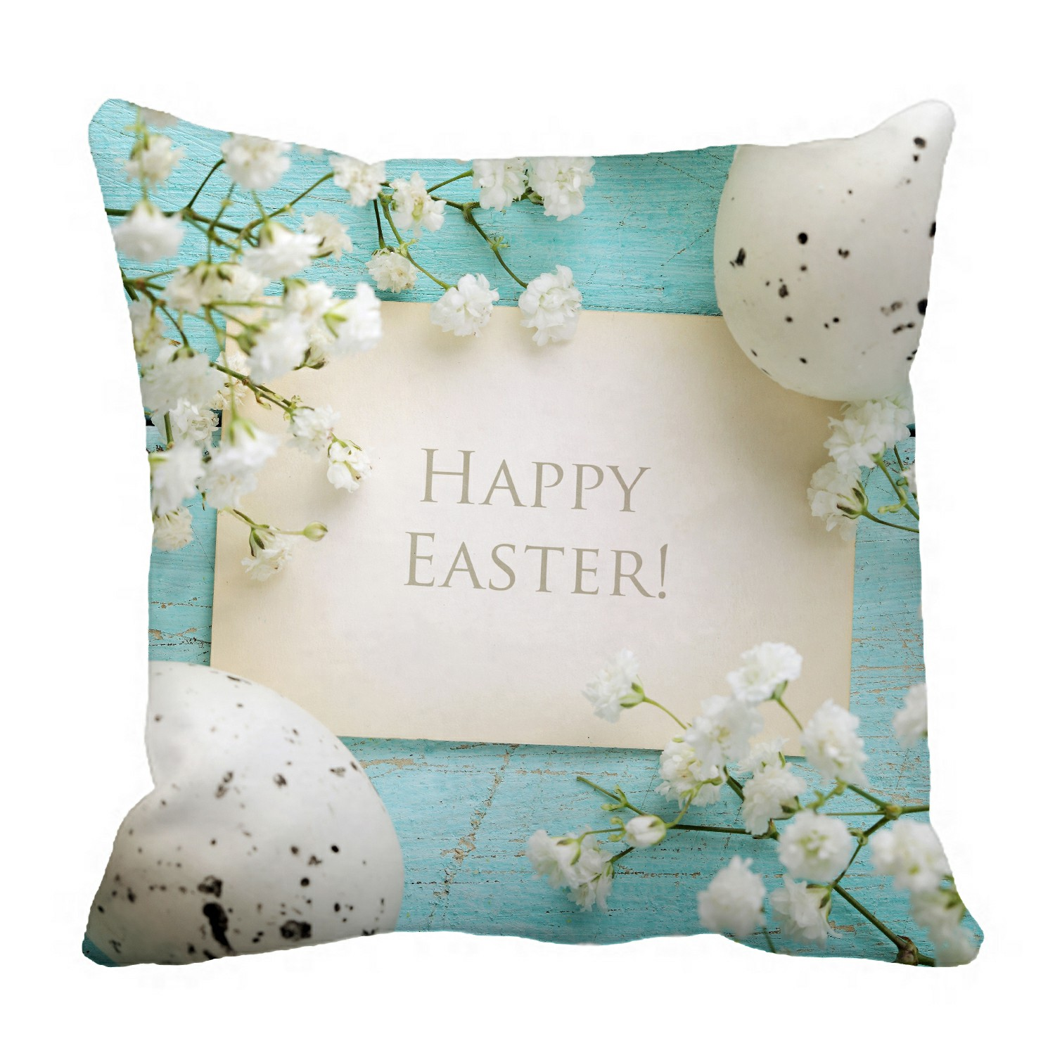 eczjnt easter pillow case pillow cover cushion cover 16x16 inch