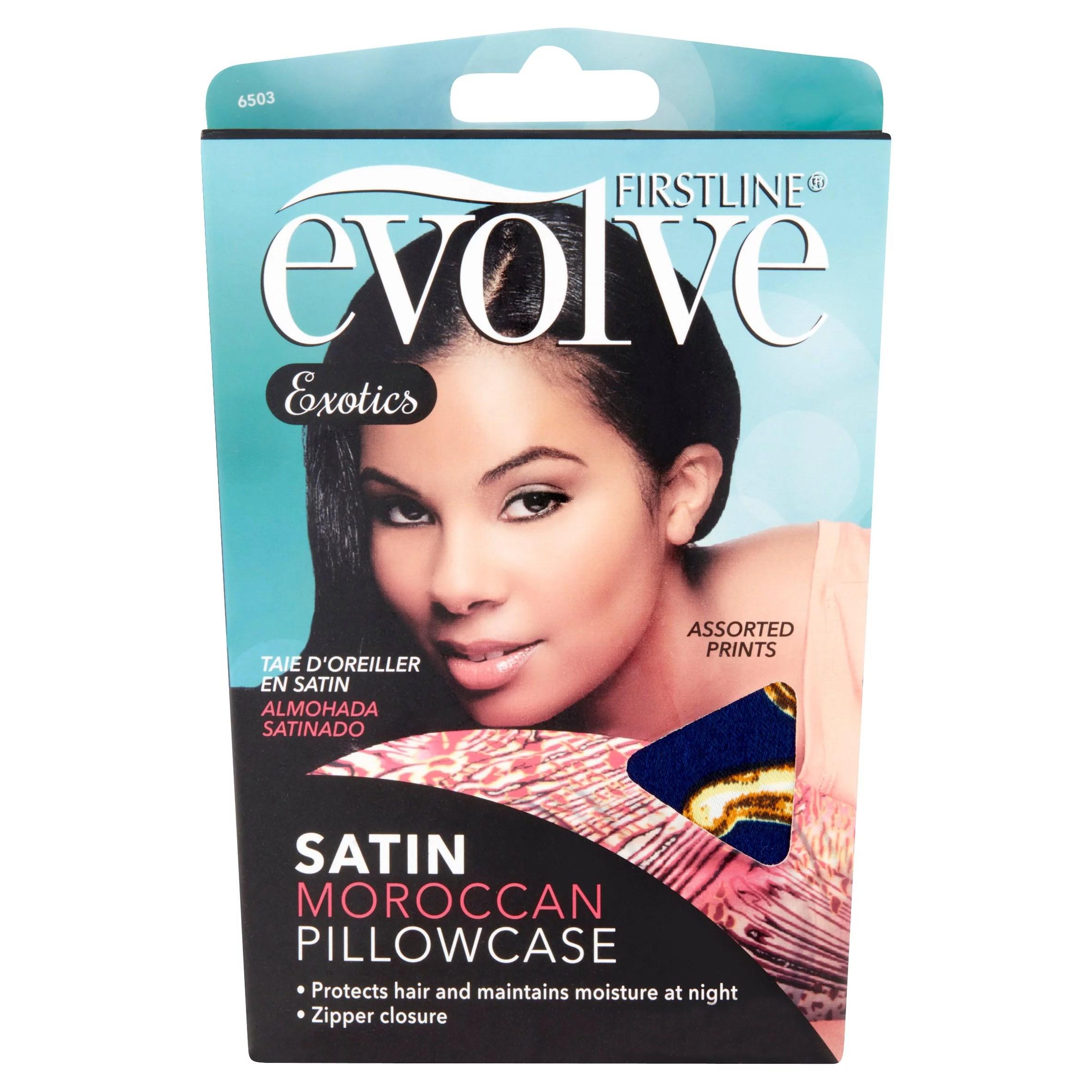 firstline evolve exotics satin moroccan pillowcase