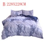 Egmy Simple Marble Bedding Duvet Cover Set Quilt Cover Twin King Size With Pillow Case Walmart Com Walmart Com