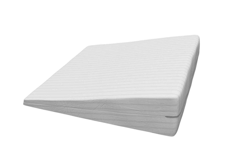 gel memory foam wedge pillow for acid reflux cool temp wedge pillow for gerd walmart com