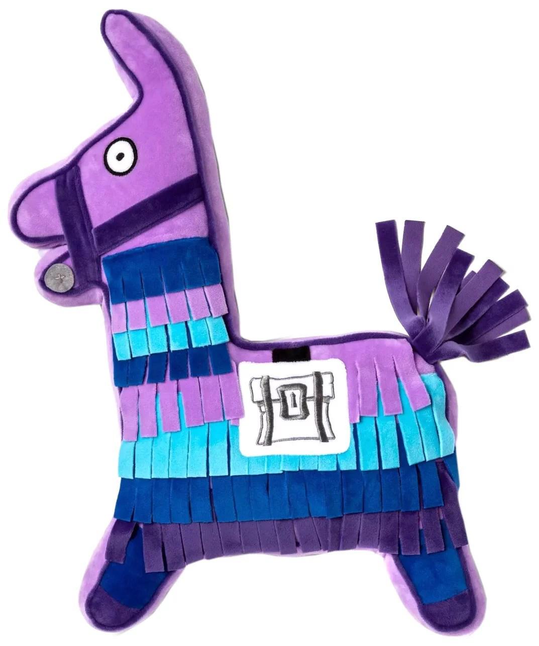 fortnite llama shaped multicolor pillow buddy 1 each walmart com