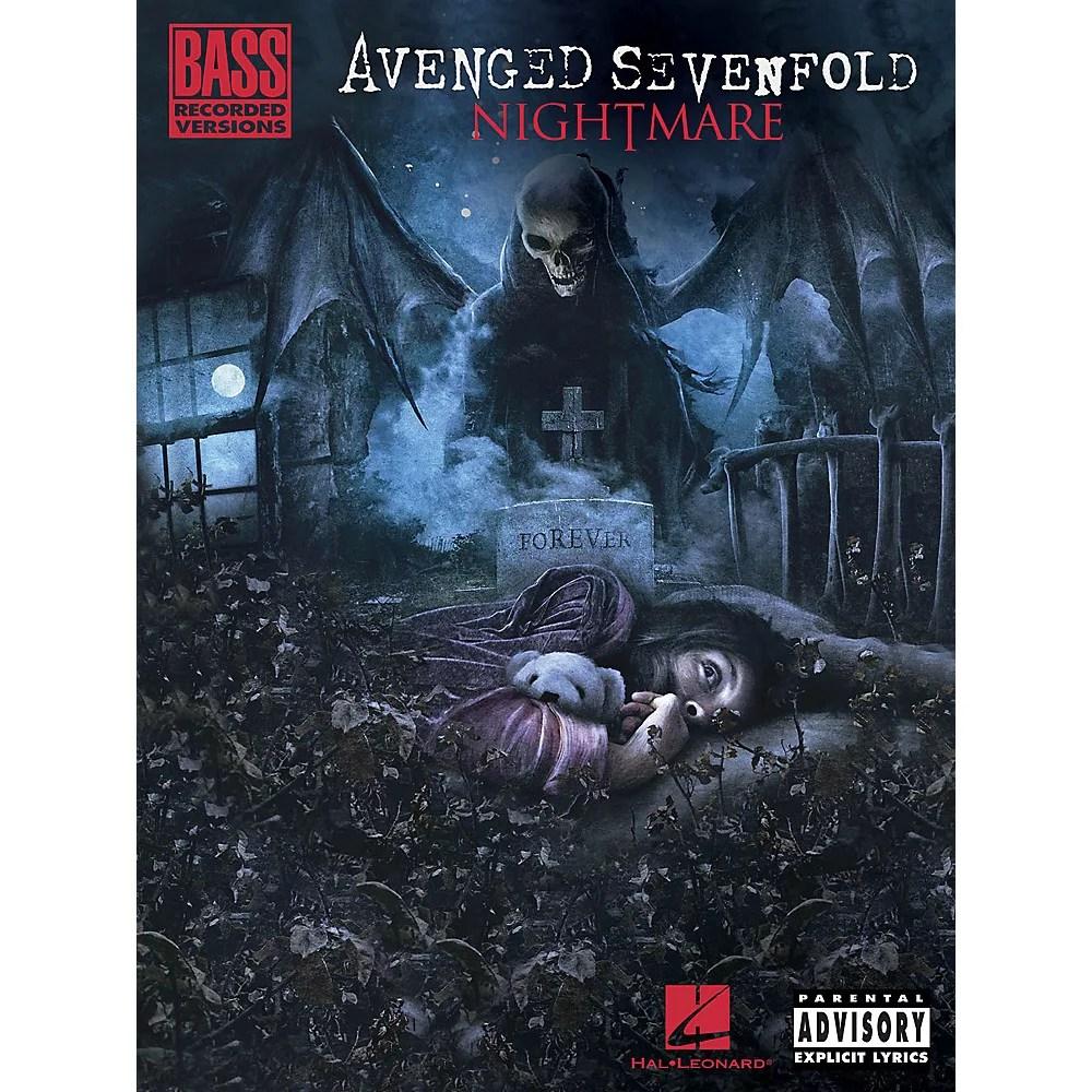 hal leonard avenged sevenfold nightmare bass tab songbook walmart com
