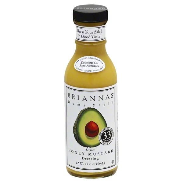 Brianna39s Honey Dijon Mustard Dressing 12 oz Walmartcom