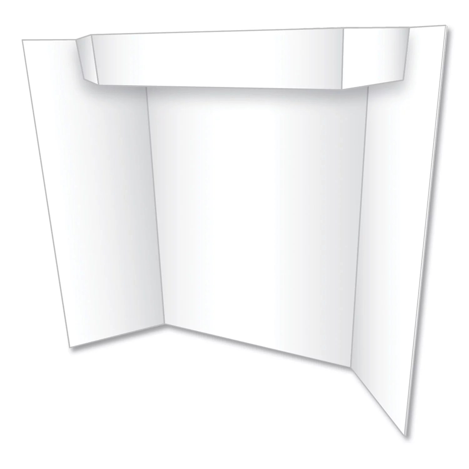 geographics too cool tri fold poster board 24 x 36 white