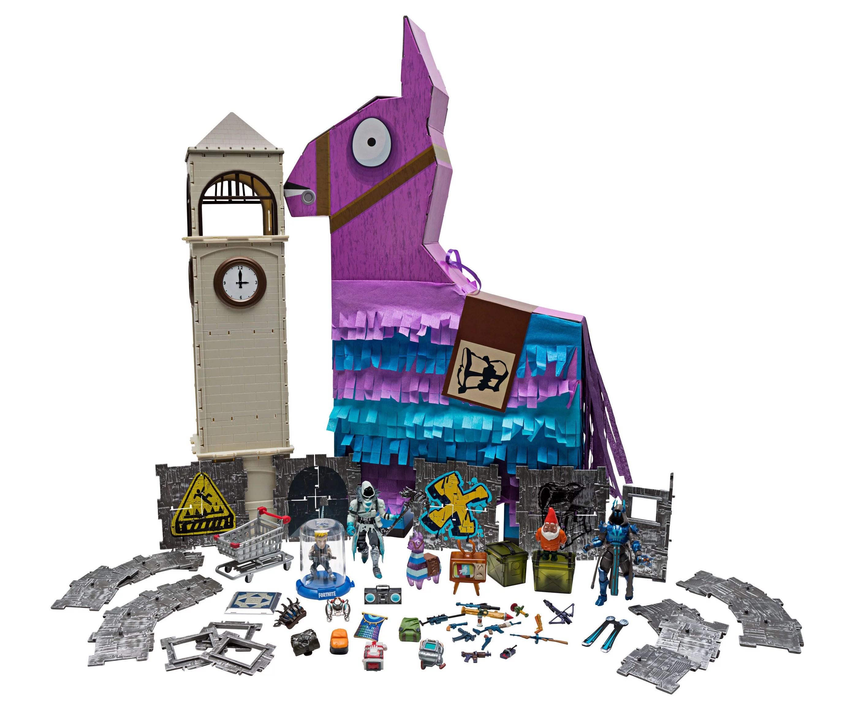 fortnite jumbo llama loot pinata frozen raven and ice king 4 inch figures