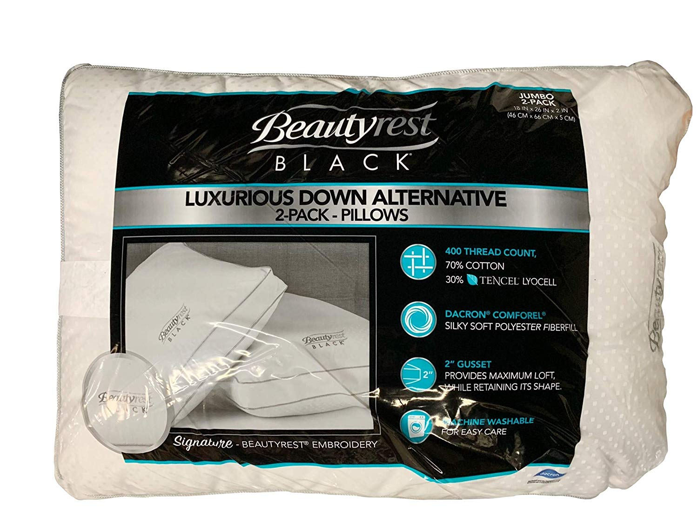 beautyrest black pillow matres image