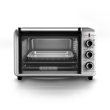 Black Decker 6 Slice Convection Countertop Toaster Oven Stainless