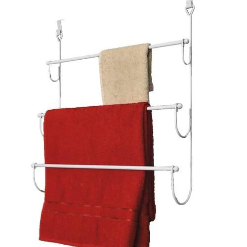 evideco over the door towel rack