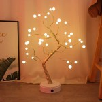 Amerteer Upgraded Copper Wire Tree Branch Decorative 20inch 36 Warm White Led Table Lamp For Home Decoration Wedding Sign Living Room Bedroom Or Bar Warm White Walmart Com Walmart Com