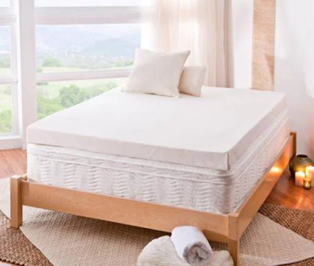 Spa Sensations By Zinus 4 Memory Foam Mattress Topper Multiple Sizes With Theratouch Walmart Com