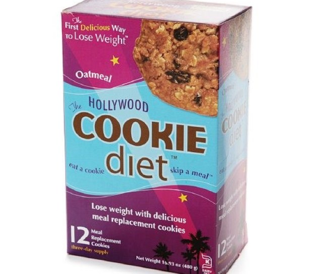 Hollywood Diet Miracle Products Hollywood Cookie Diet Meal Replacement Cookie Oatmeal  Cookies