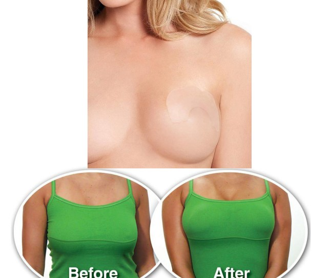 Alltopbargains  Breast Lift Bra Invisible Stick On Tape Push Up Boob Uplift Shaper Adhesive Walmart Com