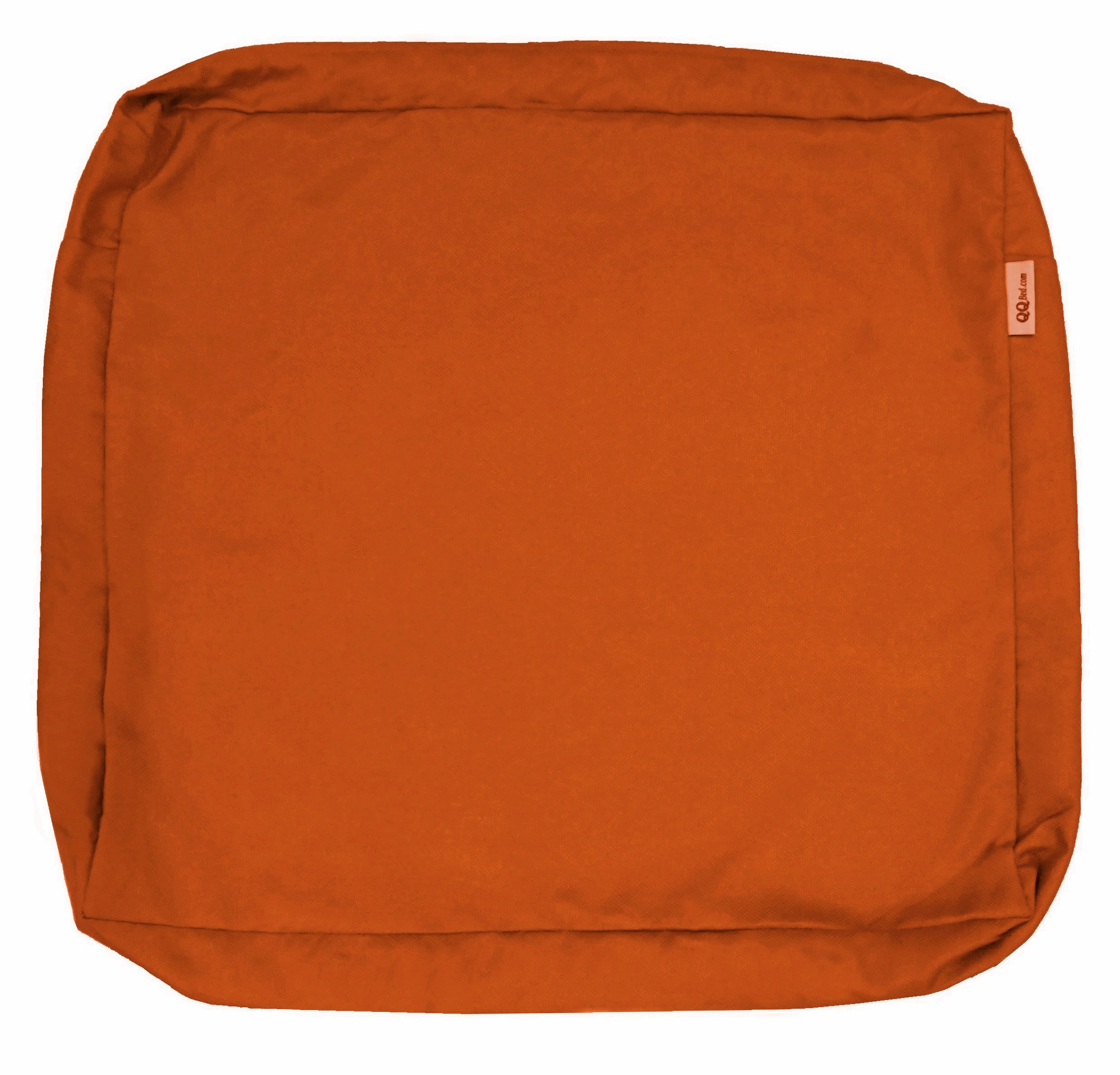 waterproof outdoor seat chair patio cushion cover duvet case 24x22x4 rust color