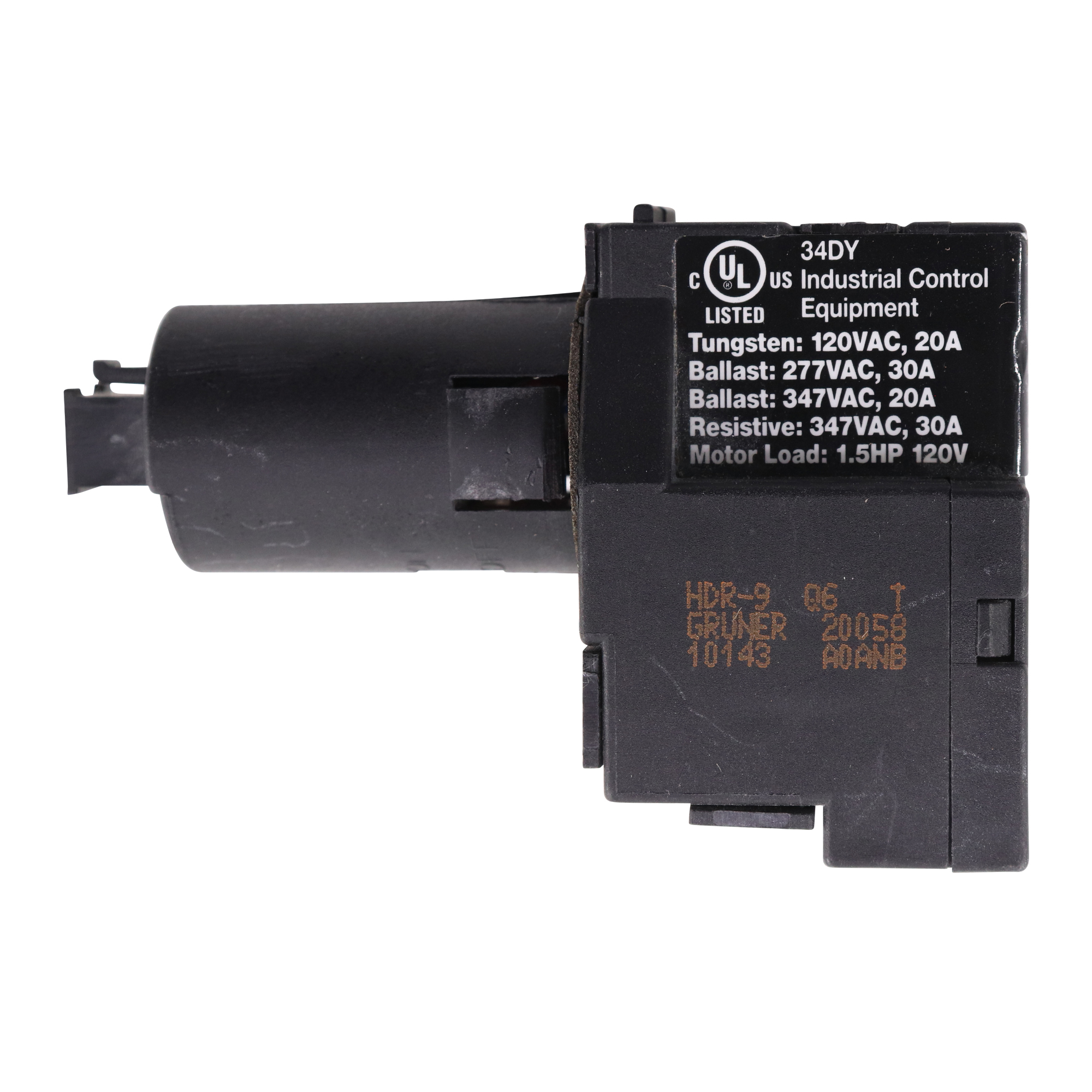 wattstopper hdr 9 low voltage lighting control relay 1 pole 120 277 347v 20 30a walmart com
