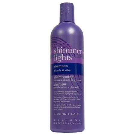 clairol professional shimmer lights blonde silver shampoo 16 fl oz walmart