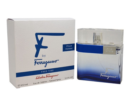 F By Ferragamo Free Time by Salvatore Ferragamo 3.4 oz EDT for men