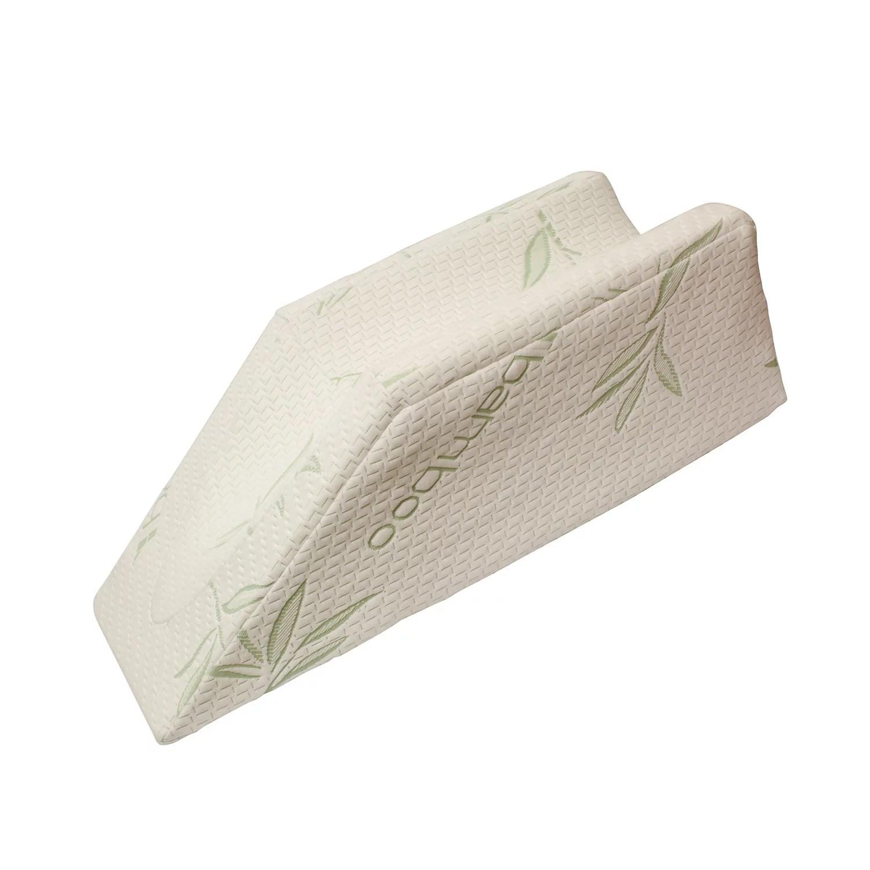 monmed post surgery leg elevation pillow leg rest pillow foam wedge pillow walmart com