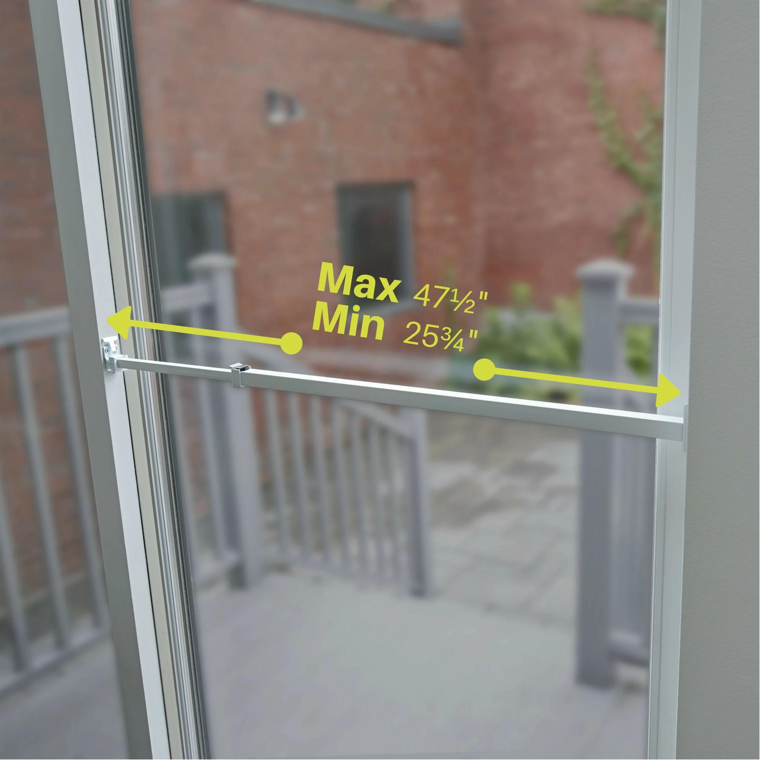 ideal patio door security bar