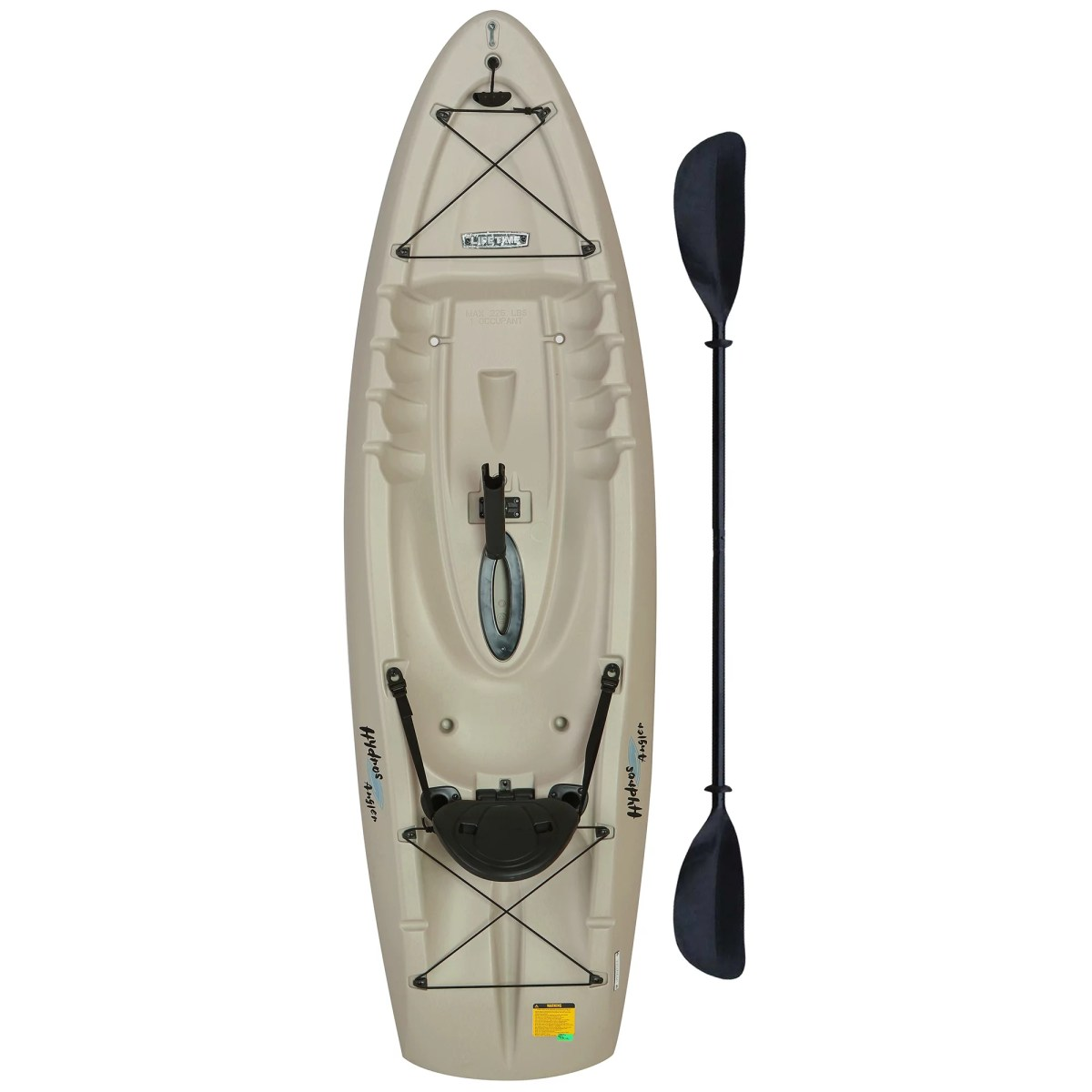 Lifetime Hydros Angler 8 ft 5 in Fishing Kayak (w/Paddle), 90610