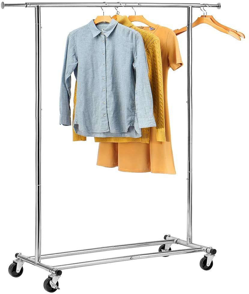 house day portable clothing garment rack heavy duty rolling clothes rack collapsible clothing rack commercial grade