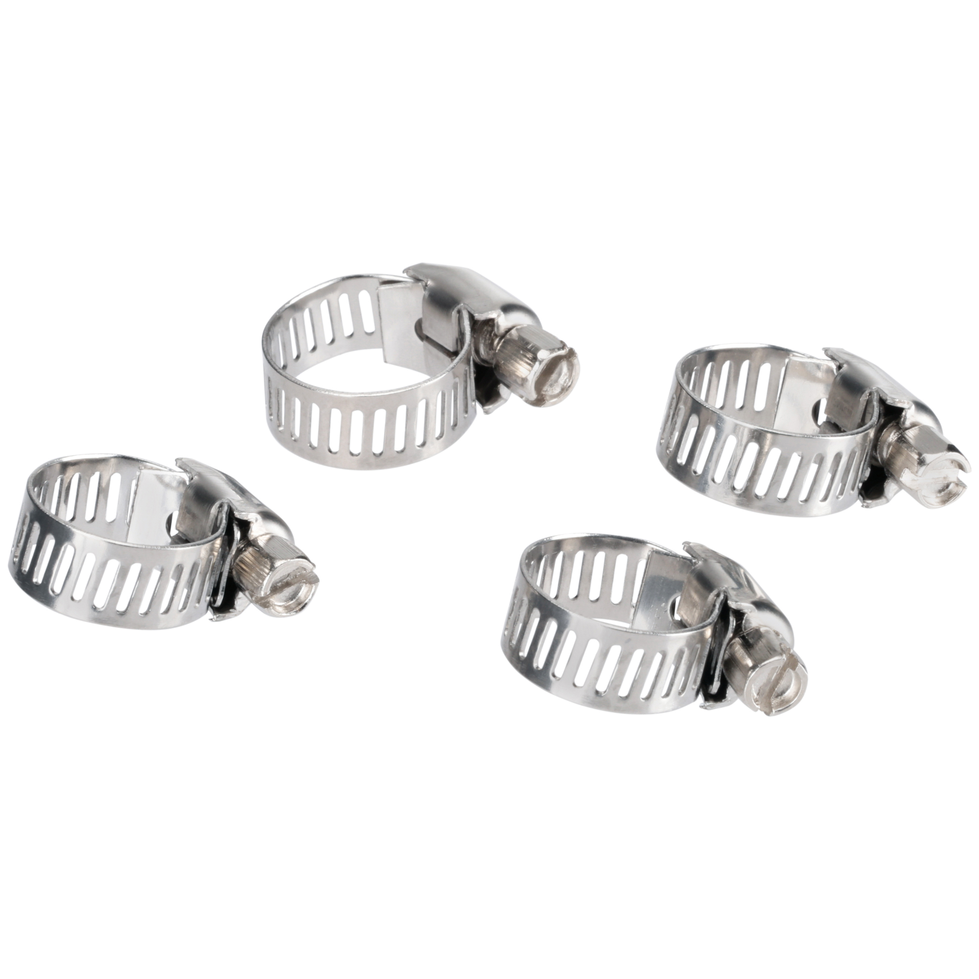 Shop Craft Stainless Steel Bands Hose Clamps 4 Ct Pack