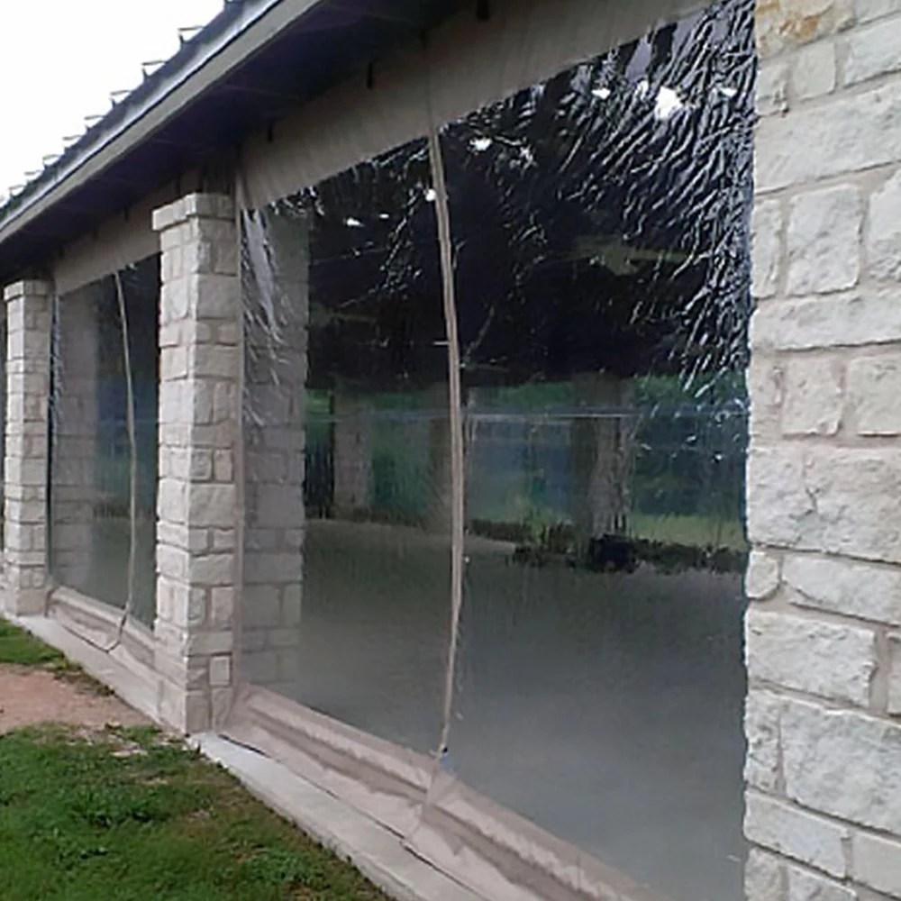 38 gauge clear vinyl marine plastic pvc waterproof boat windows covers curtains porch enclosures 48 w
