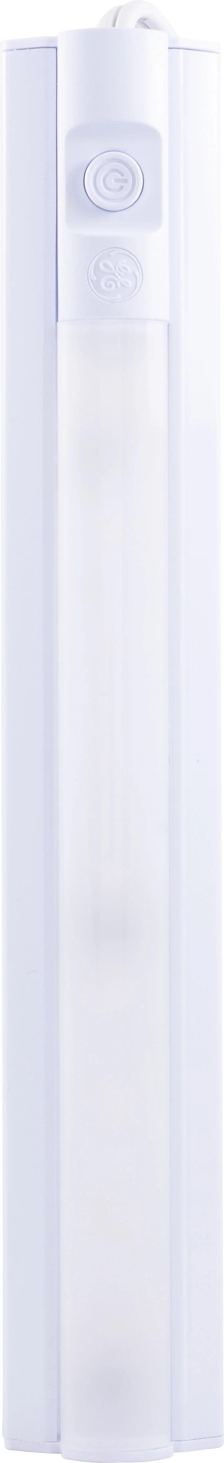 ge 10in led plug in basic under cabinet light fixture 26534