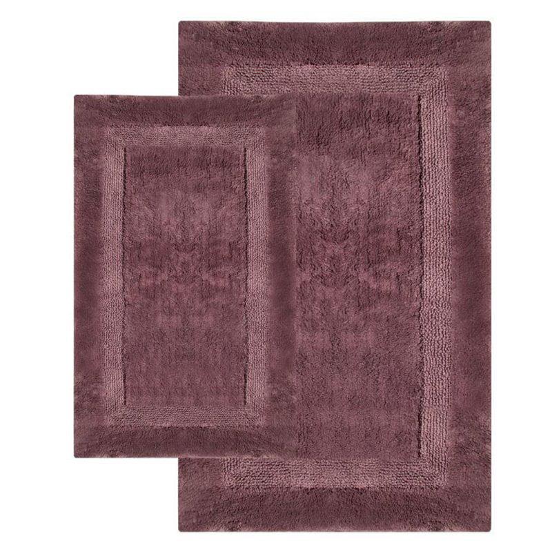 2-piece naples bath rug set - walmart