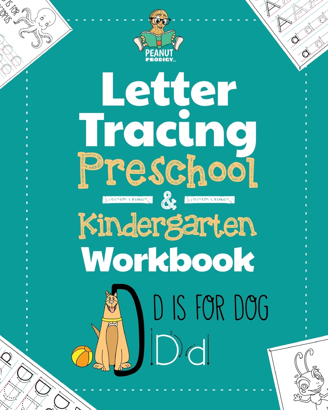 Letter Tracing Preschool Amp Kindergarten Workbook Learning