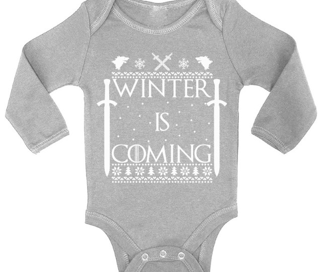 Awkward Styles Winter Is Coming Christmas Baby Outfit Babys First Christmas Clothes Christmas Onesie Girl Christmas