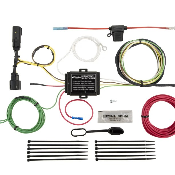 hopkins towing solution 11141164 trailer wire harness