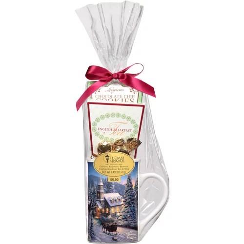 Holiday Thomas Kinkade Tea Amp Mug Assortment Gift Set 5 Pc