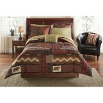 Mainstays Cabin Bed In A Bag Coordinating Bedding Walmart Com Walmart Com