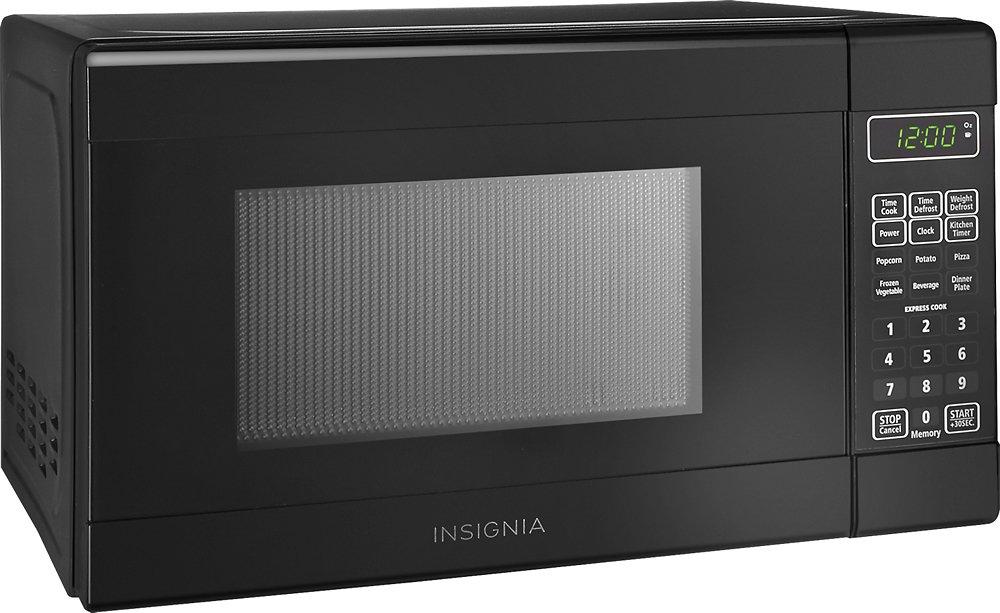 insignia ns 7cm6 bk microwave oven freestanding 0 7 cu ft 700 w black