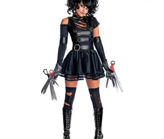 Edward Scissorhands Miss Scissorhands Adult Halloween Costume Walmart Com